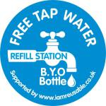 Refill your own water bottle scheme